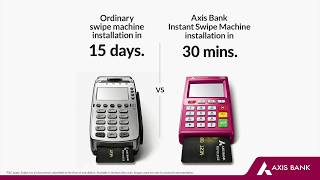 Make shopping convenient for your customers. install our instant swipe machine in just 30 minutes. give a missed call at 7036081081 #dukaanmeinaxis
