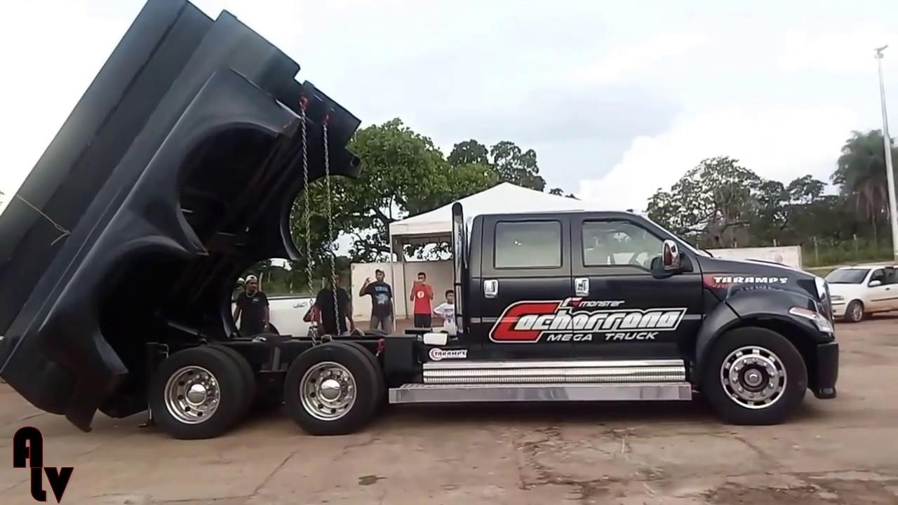 F Monster Cachorrona Mega Truck  Projetos Batman Sound