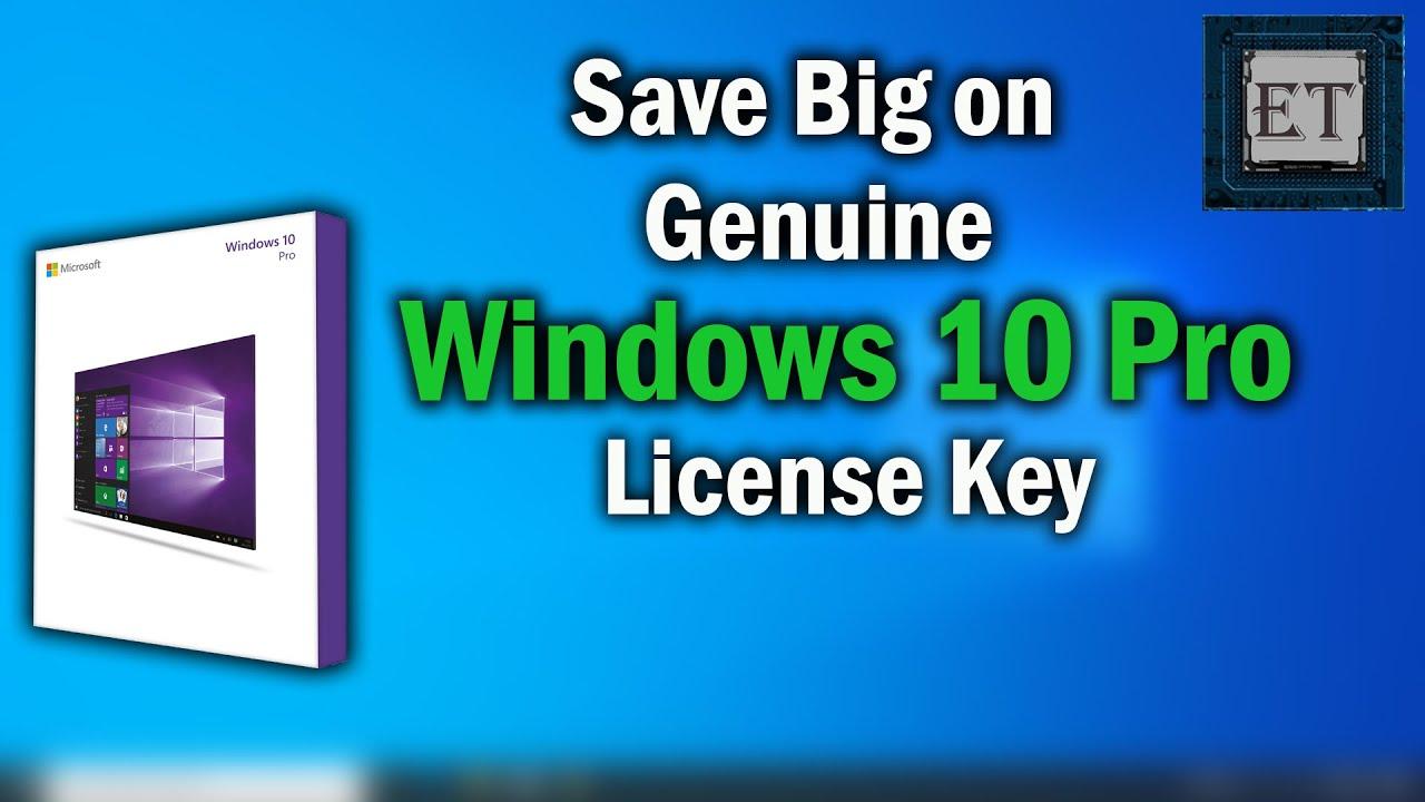 How to Get Genuine Windows 10 Pro OEM CD License Key for ...