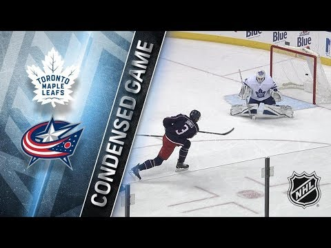 Toronto Maple Leafs vs Columbus Blue Jackets – Dec. 20, 2017 | Game Highlights | NHL 2017/18. Обзор