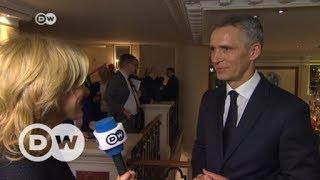 """Jens Stoltenberg: """"European military cooperation no alternative to NATO""""   DW English"""