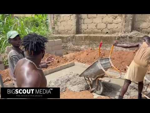 Woara tu Woara sa😳(Construction) The hustle is real in Ghana(Building a fish pond)