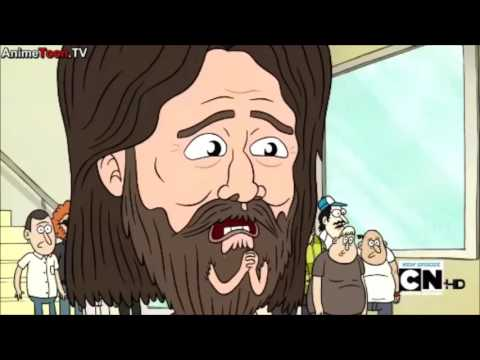 Regular Show - Mordecai and Rigby vs Garrett Bobby Ferguson (GBF)