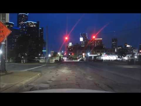 DOWNTOWN DETROIT / AT NIGHT IN THE HOOD PART 3
