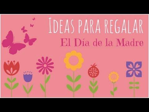 ideas para regalar el da de la madre tutoriales de y scrapbook youtube