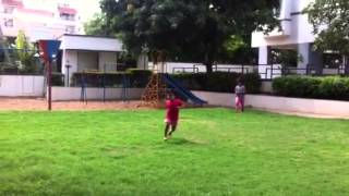 Disha Lasya playing in the green Thumbnail