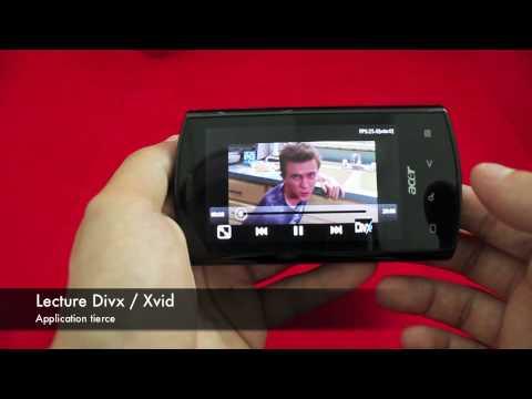 Acer Liquid E - Démonstration des fonctionnalités