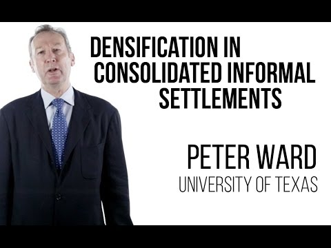 Peter Ward - Rehabilitation & Densification in Consolidated Informal Settlements