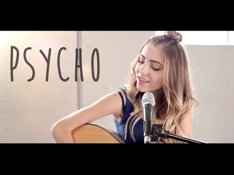 Psycho by Post Malone ft. Ty Dolla $ign  acoustic cover by Jada Facer