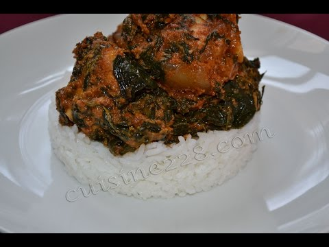 Gbomadessi (gboma - spinach - egussi soup)