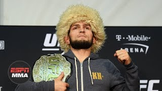 Khabib Nurmagomedov UFC 229 Post-fight Press Conference