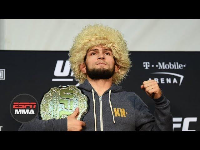 Khabib Nurmagomedov UFC 229 Post-fight Press Conference