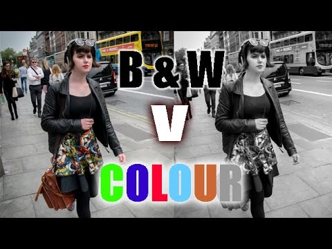 Street Photography Tips - Black & White V Colour