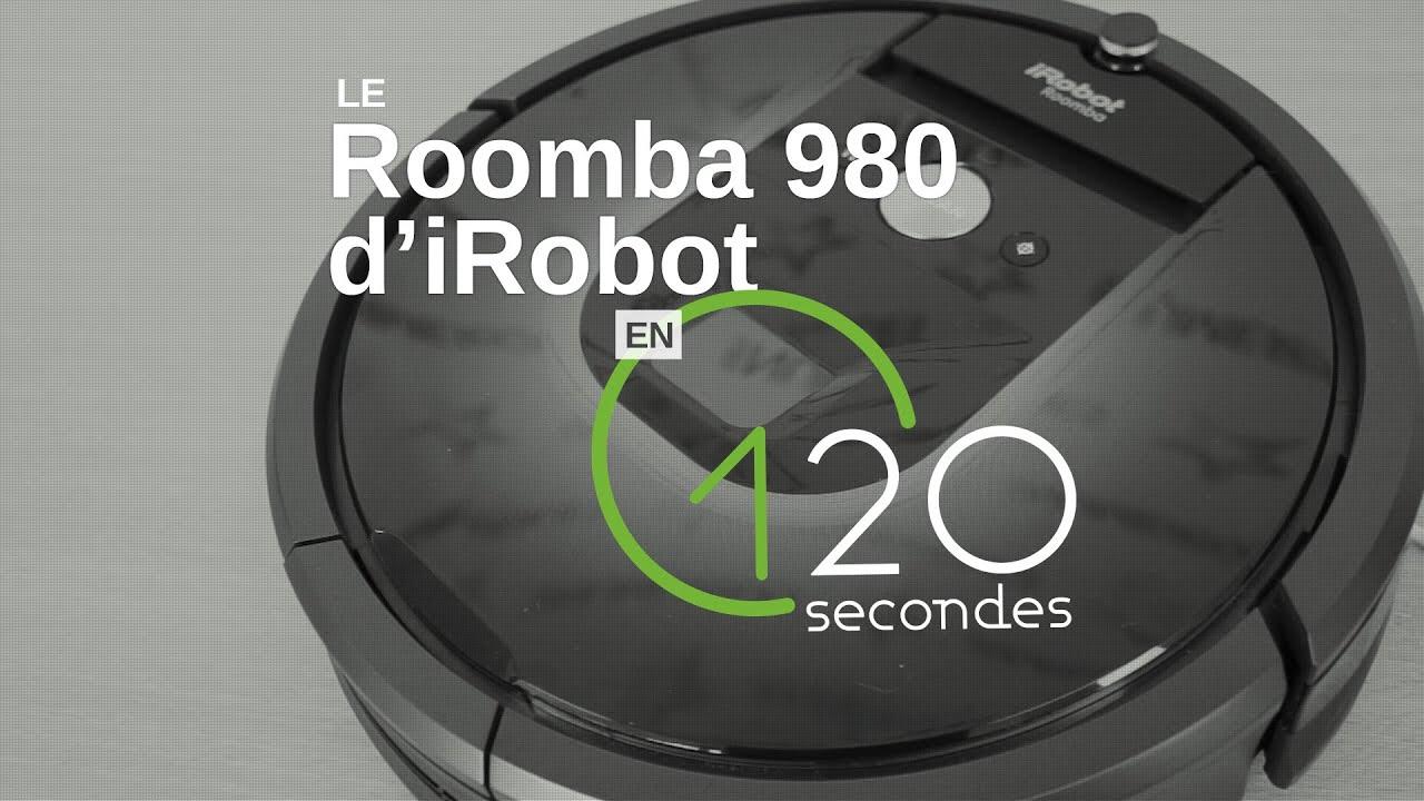Test Roomba 980 : premier robot connecté d'iRobot Les