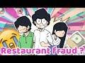😂 RESTAURANT FRAUD?? 🕵 একটি সুন্দর বোকামির গল্প। A cartoon vlog by Antik Mahmud