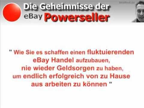 Hammer Tipps Ebay Powerseller Secrets Die Geheimnisse Der Powerseller Youtube