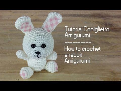 Bunny Rabbit / Lapin / Coniglio - Amigurumi | 360x480
