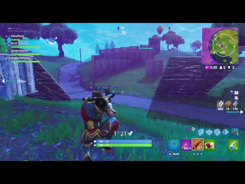 Fortnite Battle Royal with buddy's, 100+ Squadwins