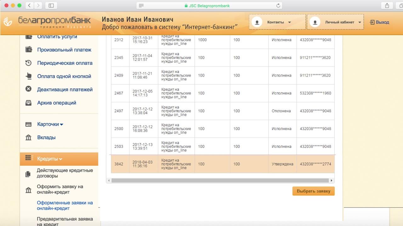 сбербанк бизнес онлайн досрочное погашение кредита