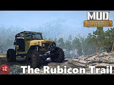 SpinTires MudRunner: THE RUBICON TRAIL