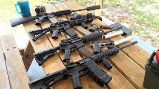 300 blackout 7 62x35 sbr 308 winchester 7 62x51 nato suppressors ready to go