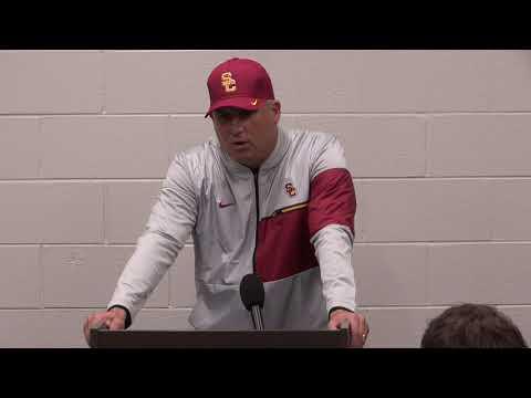 USC Football - Post Game Presser - Notre Dame