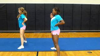 Foster Cheer 2011 Tryout Dance