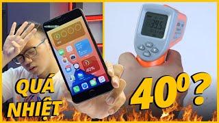 THỰC HƯ iPHONE 7 PLUS QUÁ NHIỆT SAU KHI UPDATE iOS 14 - NÓNG TỚI 40°C