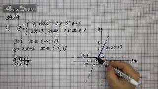 Упражнение 39.14. Вариант А. Алгебра 7 класс Мордкович А.Г.