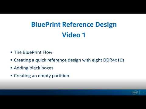 Blueprint reference design part 1 youtube blueprint reference design part 1 malvernweather Choice Image