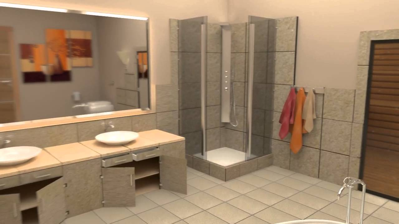 blender projet grande salle de bain tutorial youtube. Black Bedroom Furniture Sets. Home Design Ideas