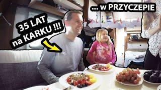 35-te Urodziny w PRZYCZEPIE Kempingowej !!! - Kupiliśmy Nowy ROWER !!! (Vlog #378)