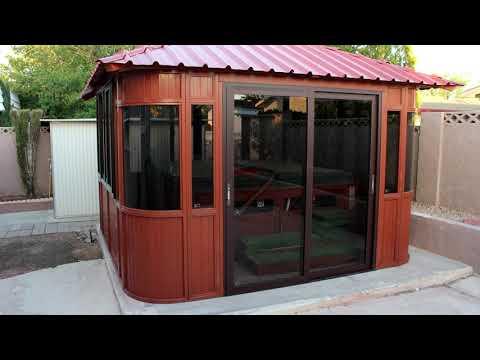Westview Aspen Spa Hot Tub Enclosure