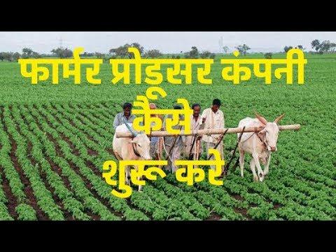 HOW TO START FARMER PRODUCER COMPANY|फार्मर प्रोडूसर कंपनी