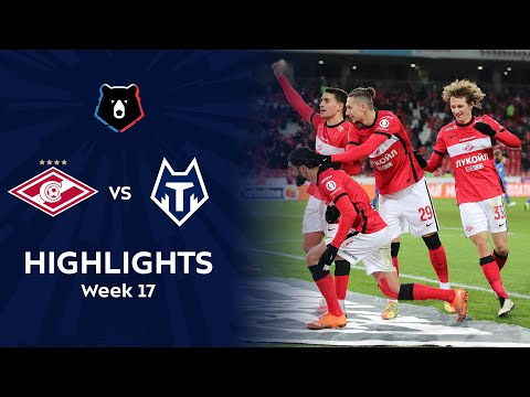Spartak Moscow FC Tambov Goals And Highlights