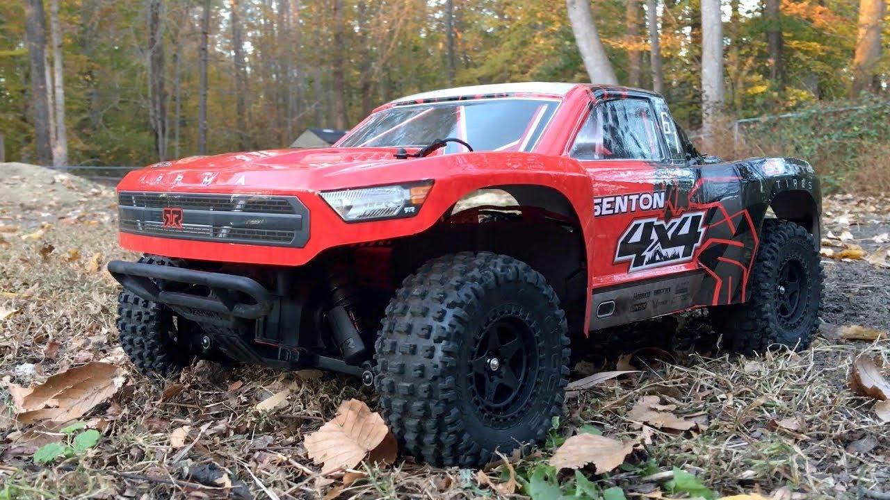 First Bash: Stock ARRMA Senton Mega 4x4 Short Course Truck