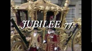 Montage of events in the queen's silver jubilee year.