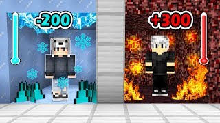 BUZ ODASI VS LAV ODASI! (KORKUNÇ TEST) 😱 - Minecraft