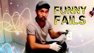 Funny Fails Video Something went wrong l Когда что то пошло не так Приколы неудачи и падения