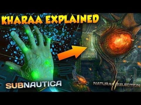 KHARAA EXPLAINED : SUBNAUTICA - NATURAL SELECTION MUTATION + EVOLUTION LORE | Subnautica Explained