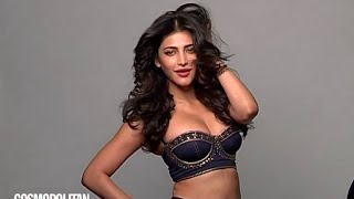 Repeat youtube video Shruti Hassan's hottest cover shoot with Cosmopolitan India - July 2015