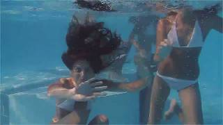 Repeat youtube video Girls swimming at the pool