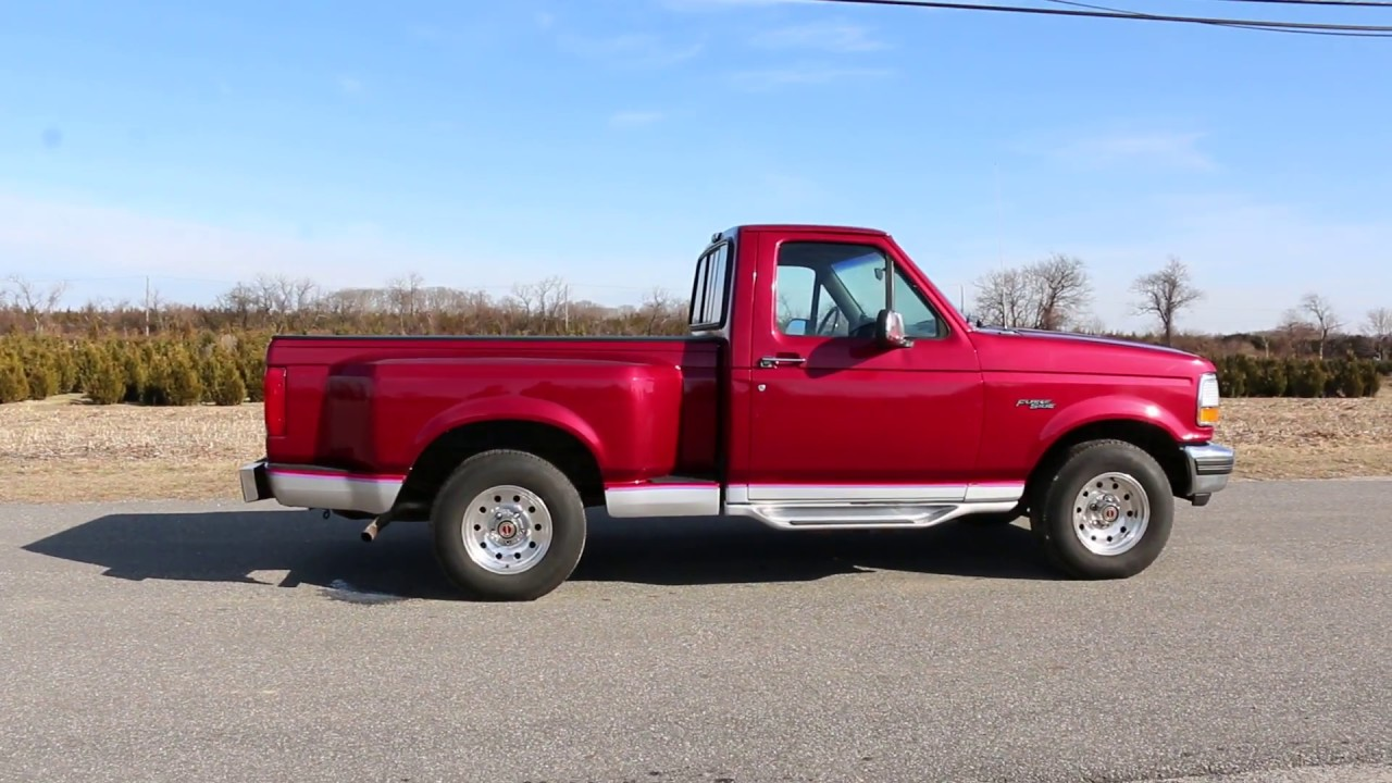 1992 ford f 150 xlt flare side pickup for sale