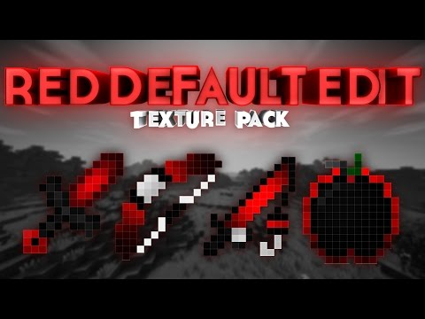 "REVIEW TEXTURE PACK PVP MINECRAFT | ""Red Default Edit Extract"""