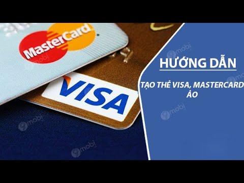 Cách Tạo Thẻ Visa/Master Ảo Bằng Barter