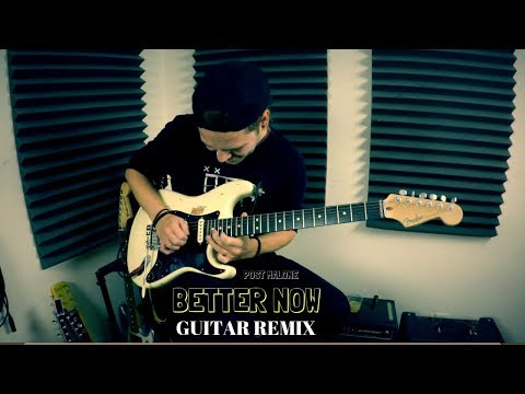 Post Malone - Better Now | QUIST GUITAR REMIX (live looping jam)