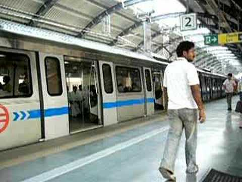 Delhi Metro - A Smooth Ride
