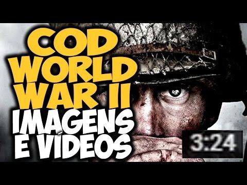 Call of Duty: WORLD WAR II - Primeiras IMAGENS e VÍDEOS OFICIAIS! Campanha COOPERATIVA?