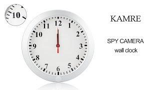 Kamre Wh47 Spy Wall Clock Camera Video Guide