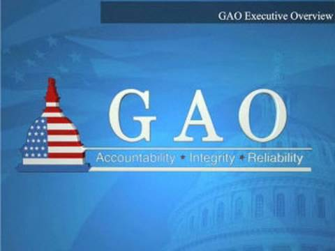 GAO: GAO Executive Overview, October 2009